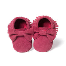 Load image into Gallery viewer, Baby Girls Shoes First Walkers Newborn Baby Moccasins Soft Boy Girl Fringe Soft Soled Non-slip Footwear  Shoes