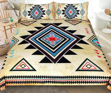 Load image into Gallery viewer, Native American  3pcs Bedding Set