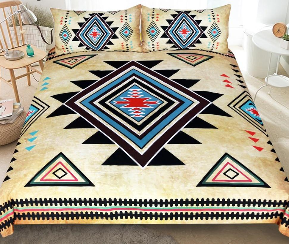 Native American  3pcs Bedding Set