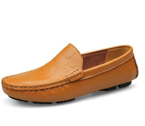 Genuine Leather Men Soft Moccasins