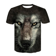 Load image into Gallery viewer, Harajuku Wolf 3D Print Cool T-shirt Men/Women Summer Tops Tees T shirt Fashion t shirts M- 4XL 1