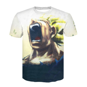 Harajuku Wolf 3D Print Cool T-shirt Men/Women Summer Tops Tees T shirt Fashion t shirts M- 4XL 1