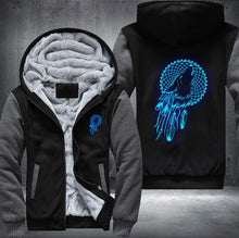 Load image into Gallery viewer, Wolf Dream Catcher  Zipper Jacket