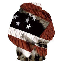 Load image into Gallery viewer, Eagle Print 3D Hoodies Men Sweatshirt Fashion American Flag Hooded Sweats  Pullover