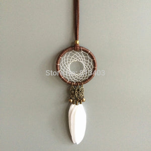 Small  Indian Feather Dream Catcher