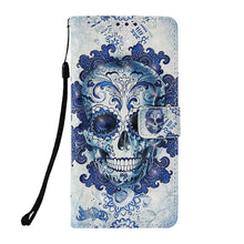 Load image into Gallery viewer, Dream Catcher Skull Wallet Leather Case
