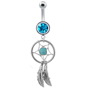 Navel Turquoises Belly Button Rings