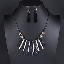 Load image into Gallery viewer, Choker  Drop Tassel Jewelry Set
