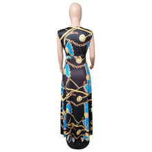 Load image into Gallery viewer, Sexy V Neck Tribal Party Dress