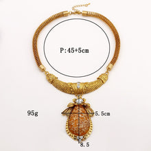 Load image into Gallery viewer, Bohemian Boho Big Large Choker Necklace