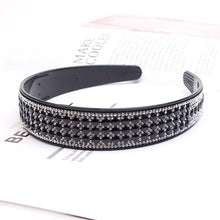 Load image into Gallery viewer, Boho Elegant Wide  Crystal Hairband