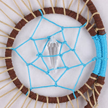 Load image into Gallery viewer, Handmade Moon Feathers Dream Catcher