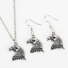 Load image into Gallery viewer, High Quality Cool Charm Animal Eagle Head Pendant Drop Earrings Jewelry Sets