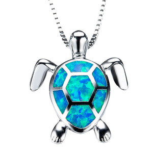 Lovely  Turtle Tortoise Pendant Necklace