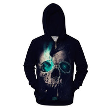 Load image into Gallery viewer, Native 3D Zip Hoodies