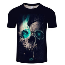 Load image into Gallery viewer, Native 3D t shirt Men Women tshirt Wolf T-shirt Black Tees Short Sleeve Tops