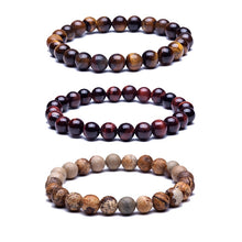 Load image into Gallery viewer, Natural Stone Beads Bracelet