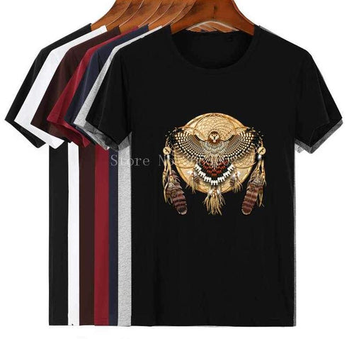 Native American T Shirt Unisex Men T Shirt Cotton T Shirt For Mens Stylish Tee Top