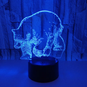 New Polar Bear 3d Lamp
