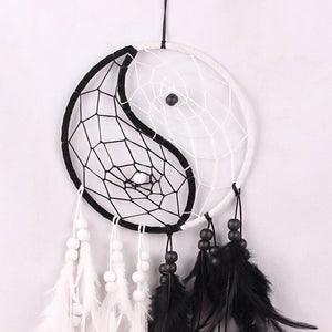 Dream Catcher with Feathers Wind Chimes
