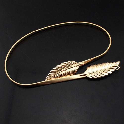 Jewelry Fashion Golden Leaf Belt