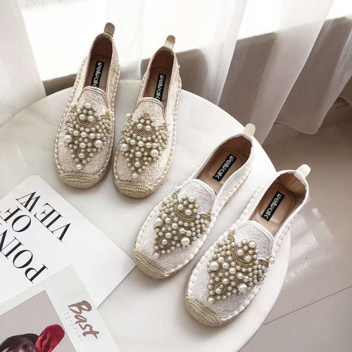 Women Shoes Fashion Espadrilles Ladies Moccasins Shoes Women Crystals Women Loafers