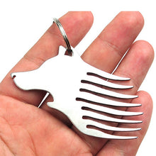 Load image into Gallery viewer, Wolf Head Mini Tool Combination Keychain Jewelry Gifts Multi-function
