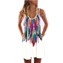 Load image into Gallery viewer, Boho Style Sexy Printed Plus Size Women Clothing Casual Summer Dress