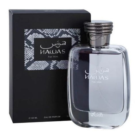 Rasasi Hawas For Him Perfume For Men 100ml Eau de Parfum - Arabian Petals