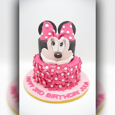 Mickey Mouse Birthday - Arabian Petals