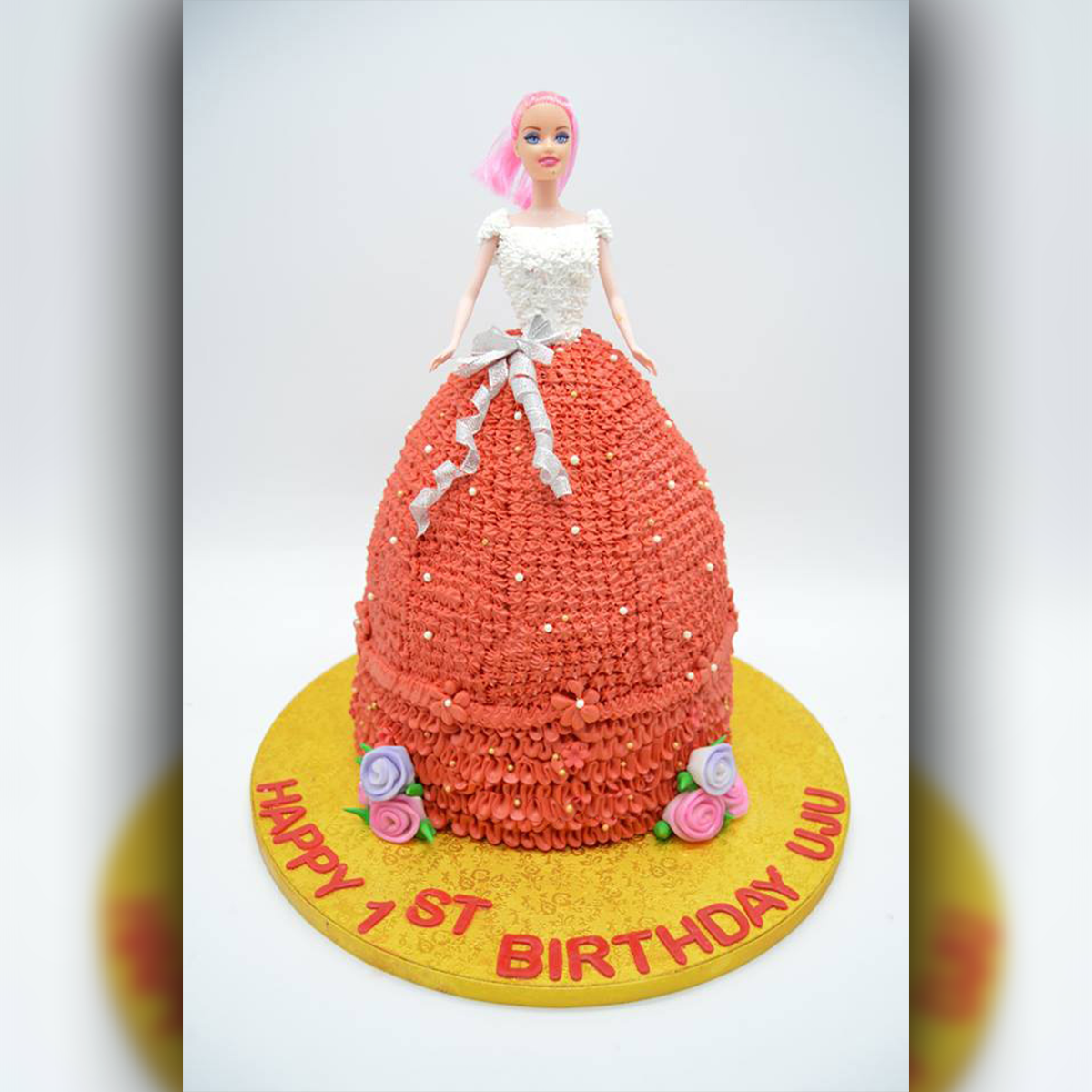Barbie Cake - Arabian Petals