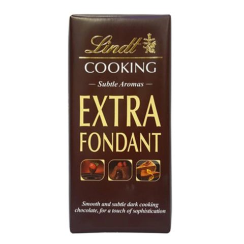 Lindt Extra Fondant Cooking Chocolate 180g