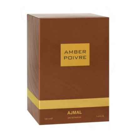 Ajmal Amber Poivre EDP For Unisex 100ml - Arabian Petals