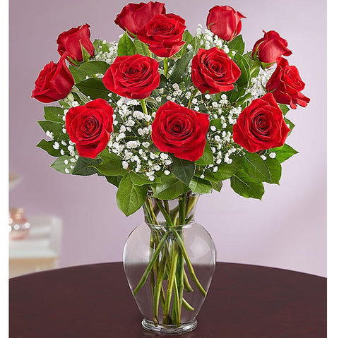 Long Stem Red Roses - Arabian Petals