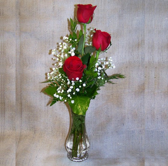 Beauty Of Rose with Vase - FWR