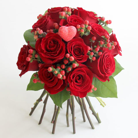 Be My Valentine Rose Bouquet