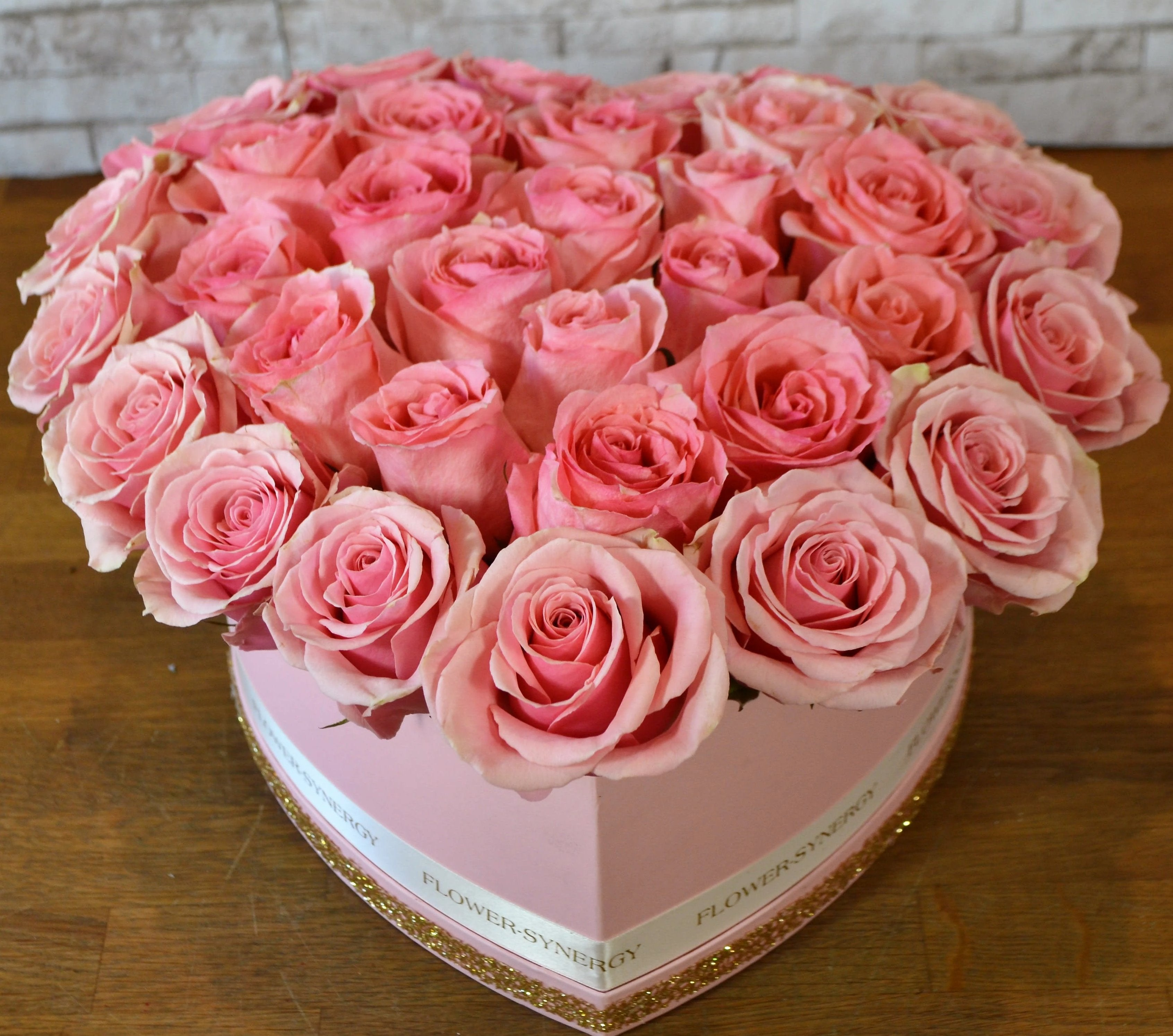 Love  & Romance with Pink Roses - Arabian Petals