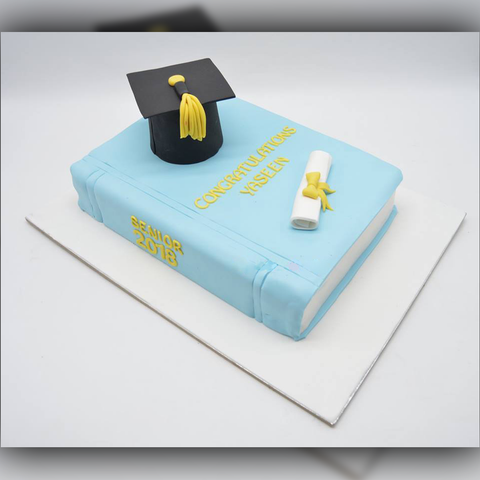 Convocation Cake - Arabian Petals