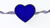 Blue Roses- Heart Shape Box