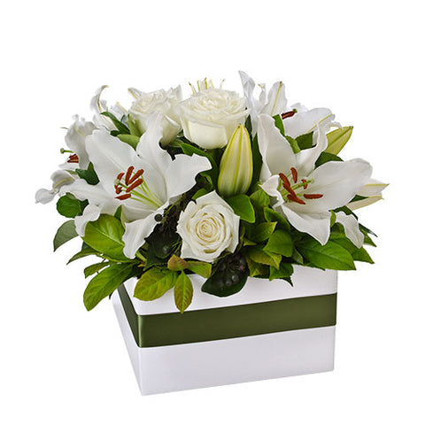 Elegant Box Arrangement - Arabian Petals