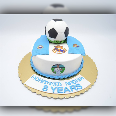 FootBall Cake - Arabian Petals
