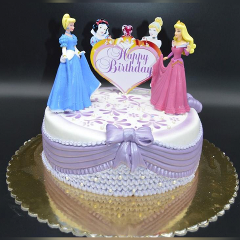 Disney Princess Cake Arabian Petals