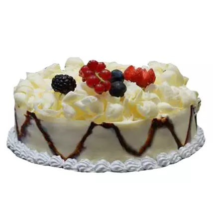 German Classic White Forest Cake
