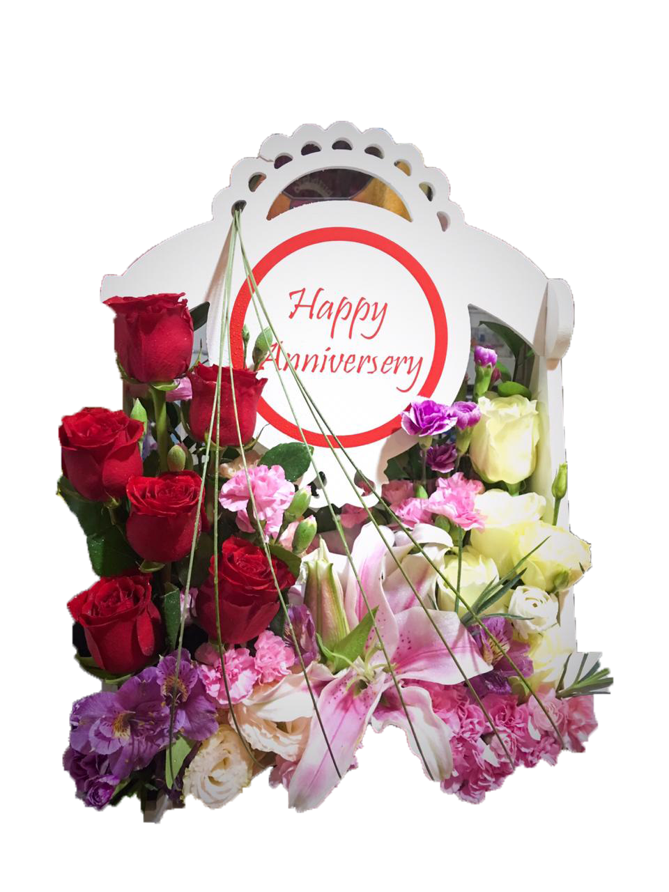 Happy Anniversary - Arabian Petals