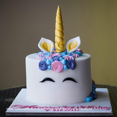 Adorable Unicorn Cake - Arabian Petals