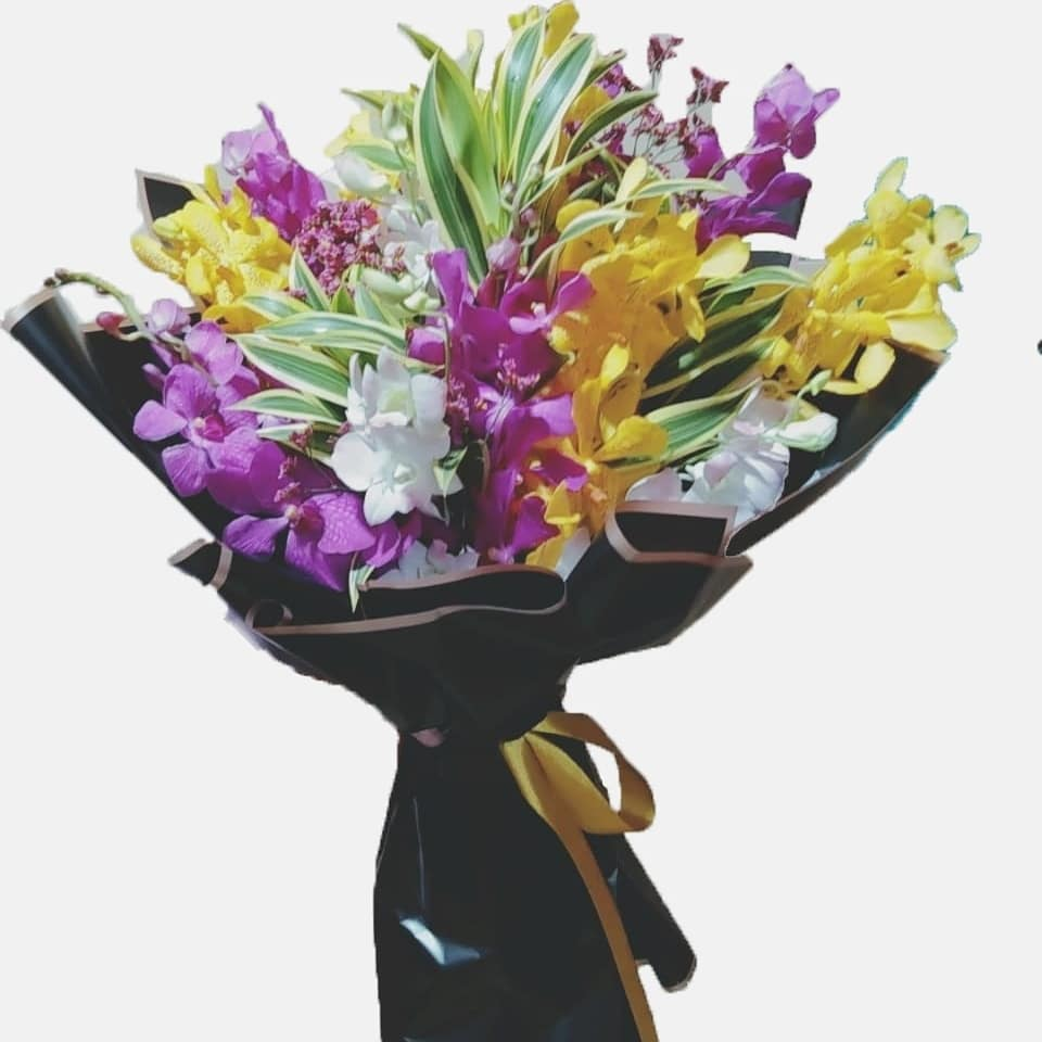 Love Orchids Arrangement - Arabian Petals