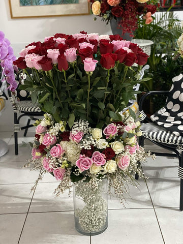 Custom Rose's arrangement - Arabian Petals