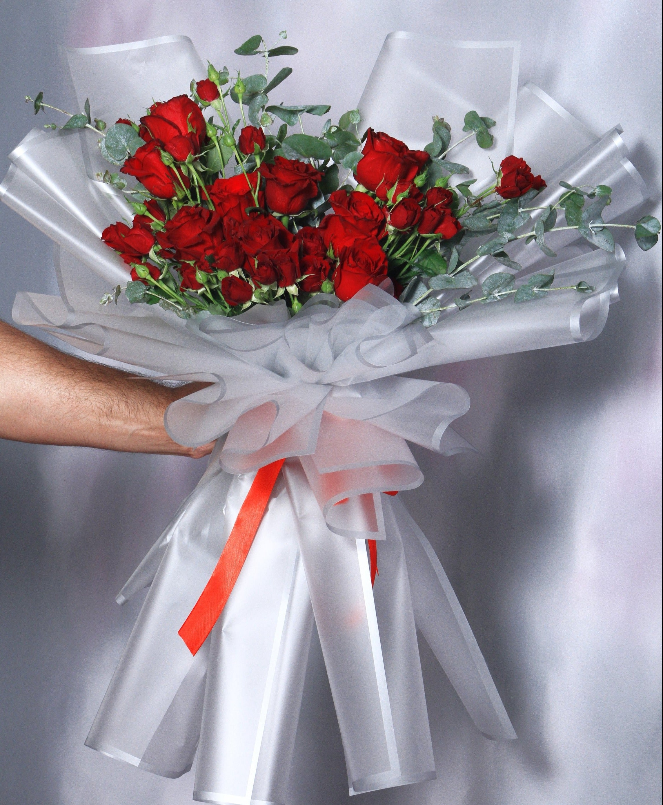 Heart Shape Bouquet - VD