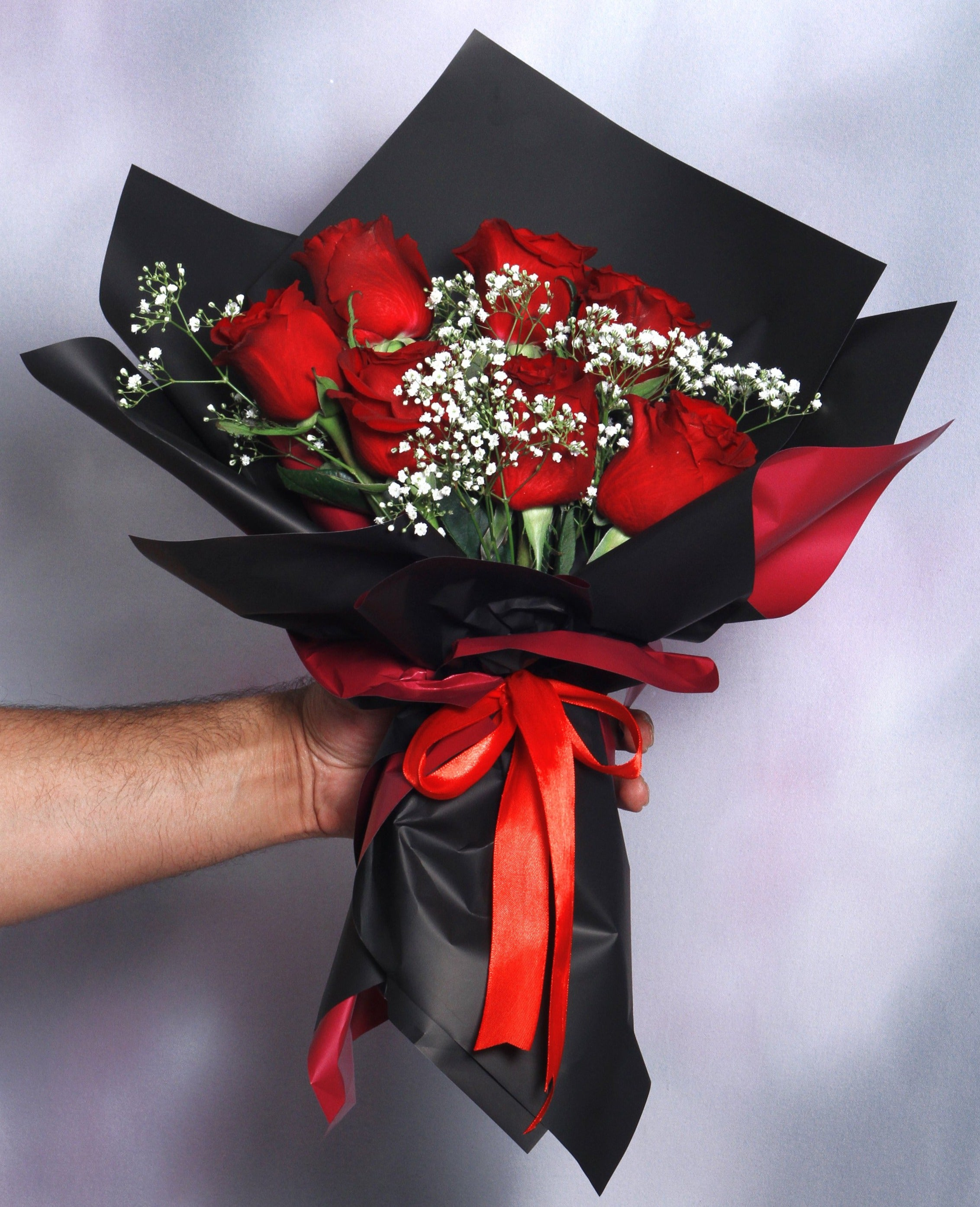 7 Red Roses Bouquet - VD