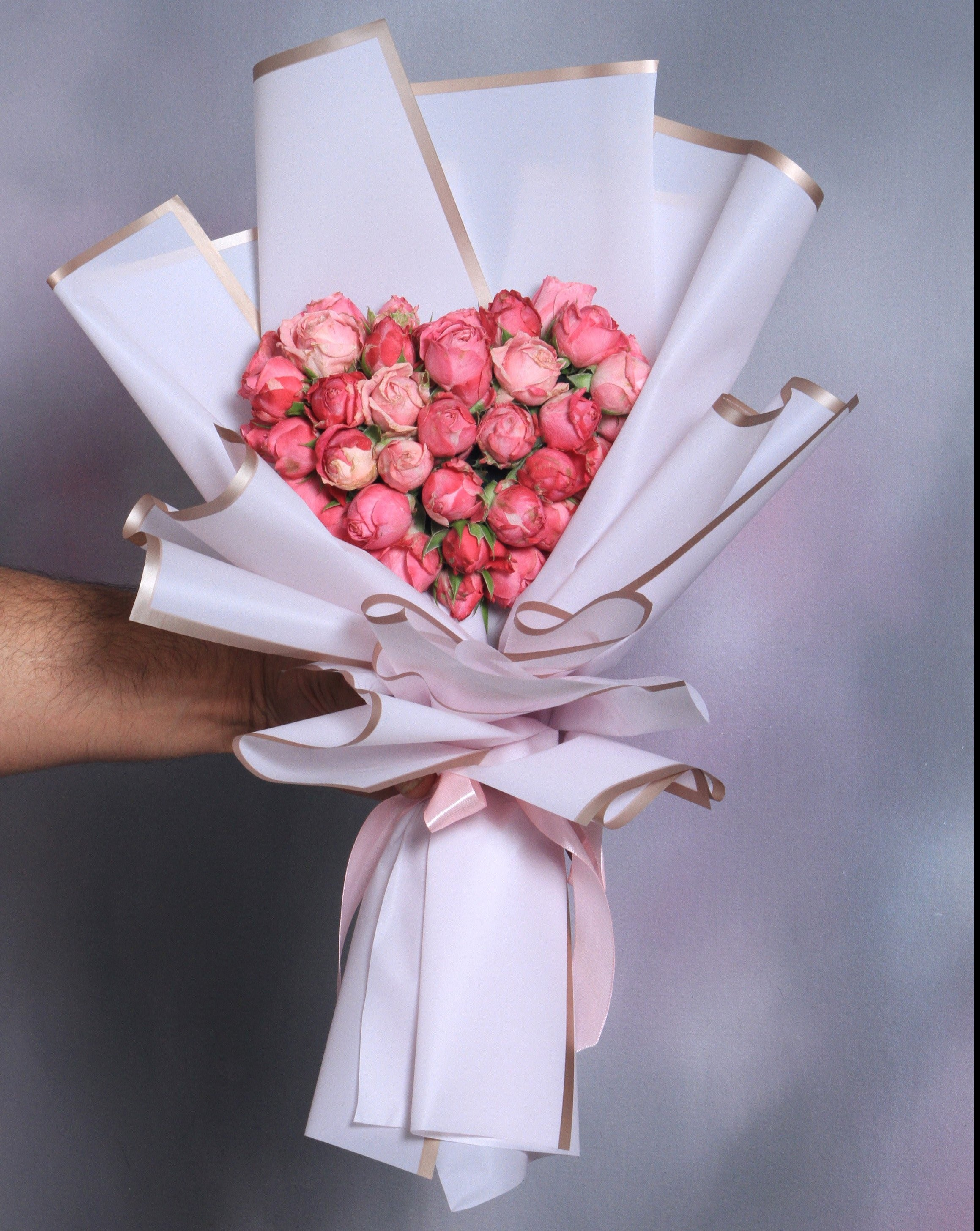 Mini Heart Shape Bouquet - VD